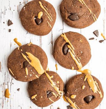 Dr Megan Rossi's Chocolate & Peanut Butter Cookies recipe
