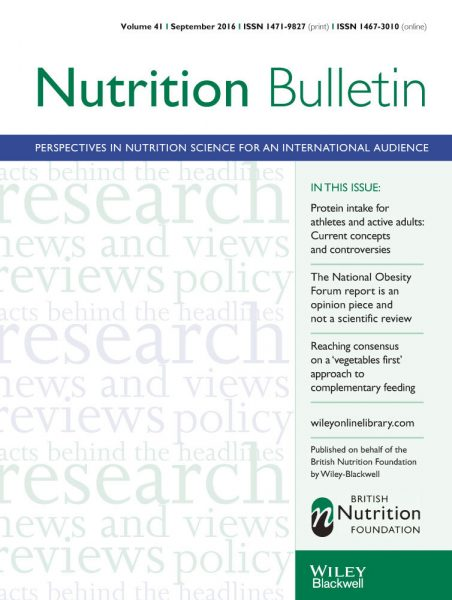 Nutrition and the gut microbiome