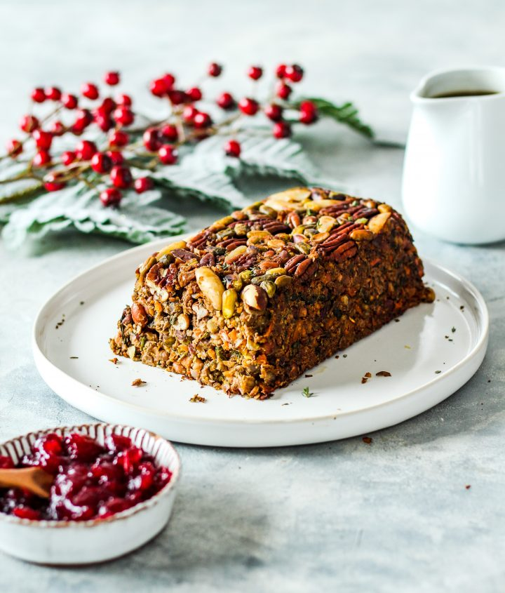 Dr Megan Rossi's Festive Nut Roast recipe